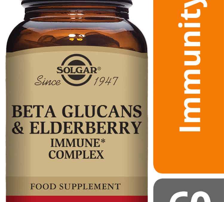 Solgar® Beta Glucans & Elderberry Immune Complex