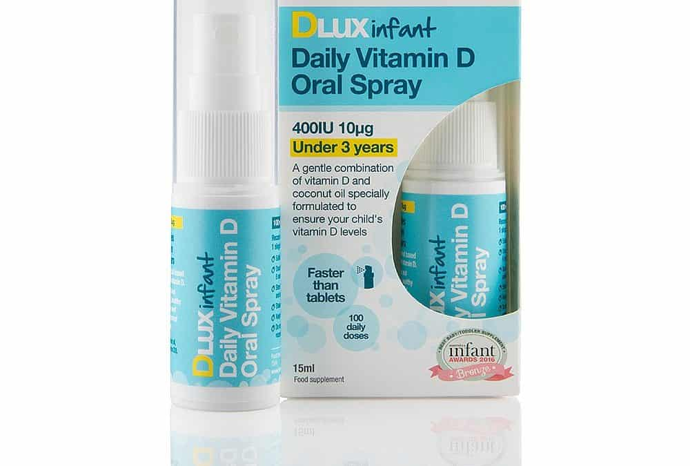 Better You DLux Infant Vitamin D Daily Oral Spray