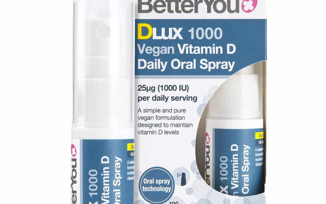 Better You DLux 1000 Vegan Vitamin D Daily Oral Spray