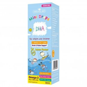 natures aid mini drops dha