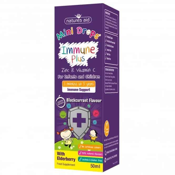 Mini Drops Immune Plus
